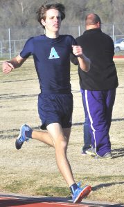 Airline's Jack Wilkes made the All-State team in the 1,600. He ranked third in the state.