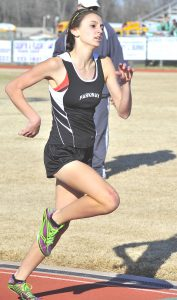 Jere Grice/Press-Tribune Parkway junior Alison Ringle made All-State in the 1,600 and 3,200.