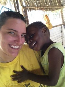Curtis Elementary teacher Ashley Johnston spent eight weeks as a missionary in Kenya this summer.