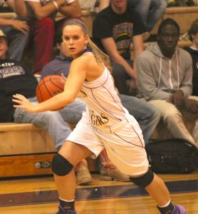 Russell Hedges/Press-Tribune Benton senior guard Megan Fream's will to win is her strongest asset, says Benton coach Mary Ward.
