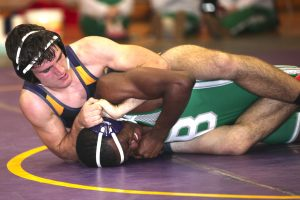 Robert Summerlin/Special to The Press-Tribune Benton's Jordan White is the No. 1 seed in the Division II 160-pound weight class in the state tournament.