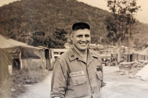 Fred McKellar while serving in Vietnam in the late 1960s.