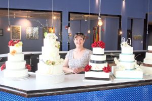 Lora Silva, owner and cake designer of My Pastry Chef Bakery, has taken her Bossier City-based business to the Red River District as part of DDA's Pop UP Project.