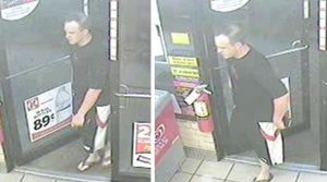 Stolen Fuel Card Suspect