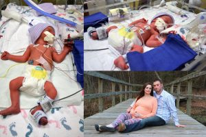Kimberly and Steven Ford of Bossier welcomed twins, Sutton Kyle (left) and Hanley Nicole (top), on Thursday, Jan. 1, 2015. The twins were born at WK Bossier Health Center at 12:43 and   12:44 a.m. (Photo of twins provided by Willis-Knighton Health System, Darrell Rebouche, photographer.)