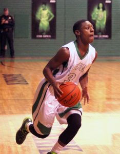 Russell Hedges/Press-Tribune Larry Robinson scored 21 points in Bossier's 67-53 victory over Tioga Tuesday night at Bossier.