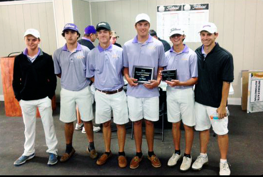 Leslie Cram/Special to The Press-Tribune The Benton golf team won the District 1, Division II title Monday in Monroe.