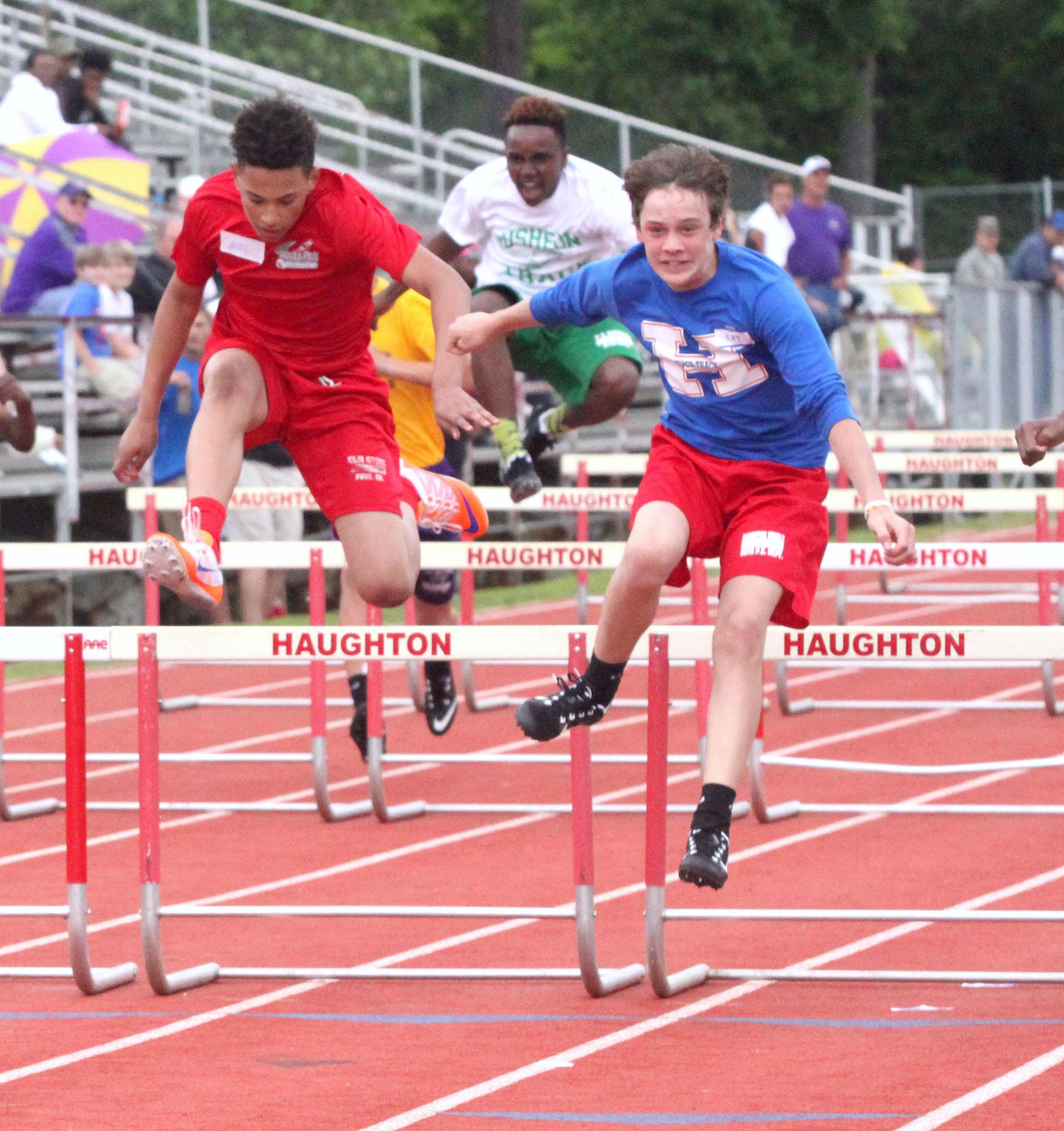 kinkaid middle school track meet 2015