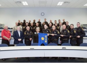 Photo by Allen Smith, Bossier Sheriff's Office | Criminal Justice Academy Class 013 group photo.