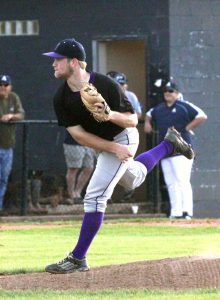 Russell Hedges/Press-Tribune Benton senior pitcher Aaron Sheppard has been named the MVP on the All-District 1-4A baseball team.