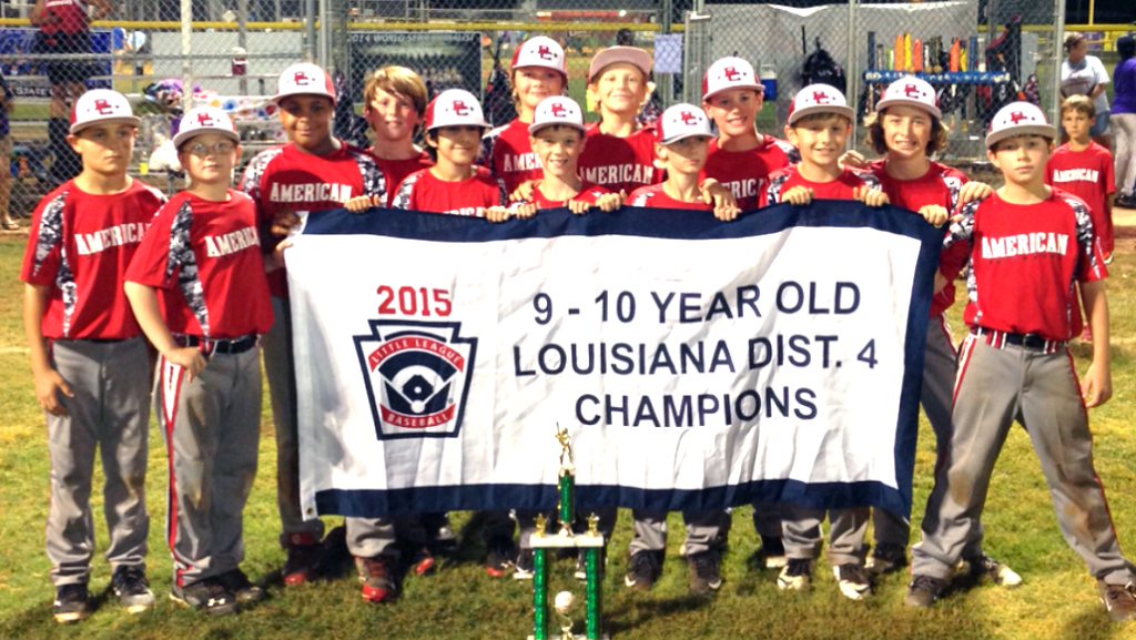 Courtesy Photo The Bossier Americans won the Little League District 4 9-10 All-Star Tournament at Clifford Almond Park.