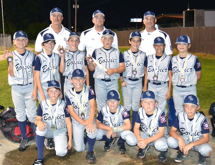 Courtesy Photo The Bossier All-Stars won the AAA (10-year-old) AAA Sub-District tournament at Walbrook Park, earning the sub-district's top seed in the District 4 tournament, which begins Friday in Ruston.