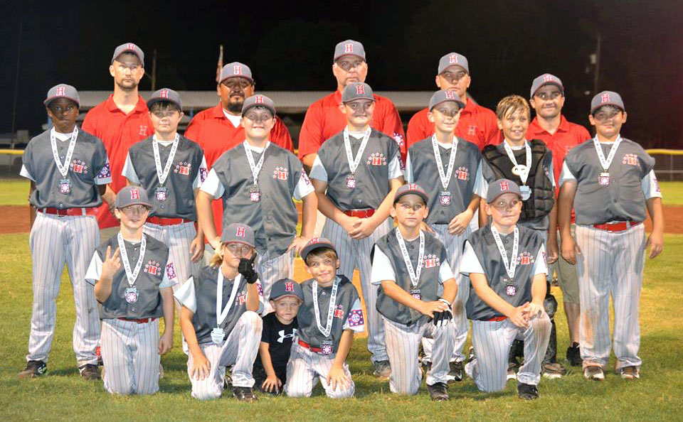 Courtesy Photo The Haughton All-Stars finished runner-up in the AAA Sub-District tournament at Walbrook Park. They will be the No. 2 seed from the sub-district in the District 4 tournament in Ruston.