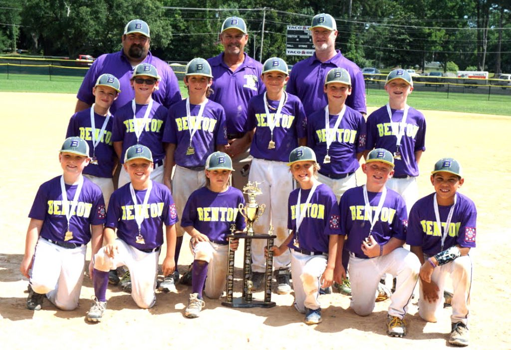 Courtesy Photo The Benton All-Stars won the Dixie 9-year-old state championship.