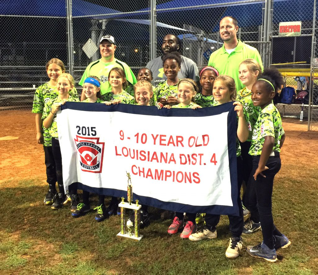 Courtesy Photo The Bossier City All-Stars won the Little League 9-10 District 4 tournament at Clifford Almond Park.