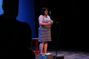 "Courtesy Photo | Storyteller Baily Atchley shares her story during ""All Y'all: Brush With Fame"" on Saturday, June 6."