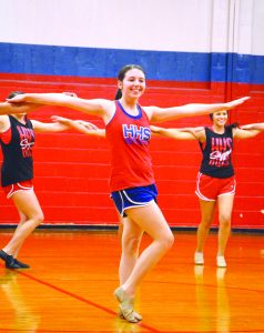 Amanda Simmons/Press-Tribune | Kenzie Farquhar is a fifth generation Highstepper.