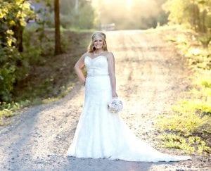 Mrs. Steven Christopher Susla | Portrait by Kristin VanZandt Photography.