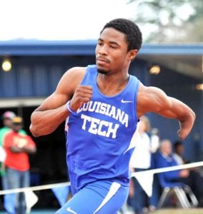 Courtesy of Louisiana Tech Sports Information/ Louisiana Tech's Jaquvis Hart, a former Airline star, will compete in the IPC World Championships in Doha, Qatar.