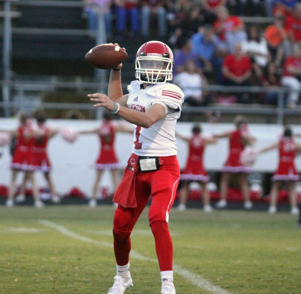 Russell Hedges/Press-Tribune Haughton's CJ McWilliams was named the Co-Offensive MVP on the Coaches' eighth-grade all-district team.