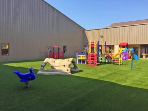 Courtesy Photo | A look at the newly installed playground equipment at Stonewall Missionary Baptist Church in Bossier City, LA.