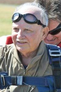 Retired MSgt. Ray Urban, 95, of Bossier City has been selected as Grand Marshal of the fourth annual Veterans parade at the State Fair of Louisiana. The parade will be held Sunday, Nov. 8.