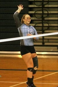 Russell Hedges/Press-Tribune Airline's Shelbi Chadick has been named the overall MVP on the All-District 1, Division I volleyball team