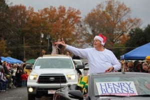 Photo by Amanda Simmons/Press-Tribune | State Rep. Henry Burns will serve as Grand Marshal of the 2015 Benton Rotary Christmas Parade, to be held rain or shine Saturday, Dec. 12, in Benton.