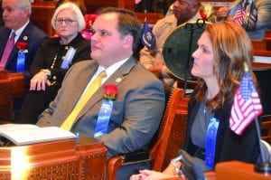 Courtesy Photo | Sen. Ryan Gatti (R-Bossier City) with his wife, Susan.
