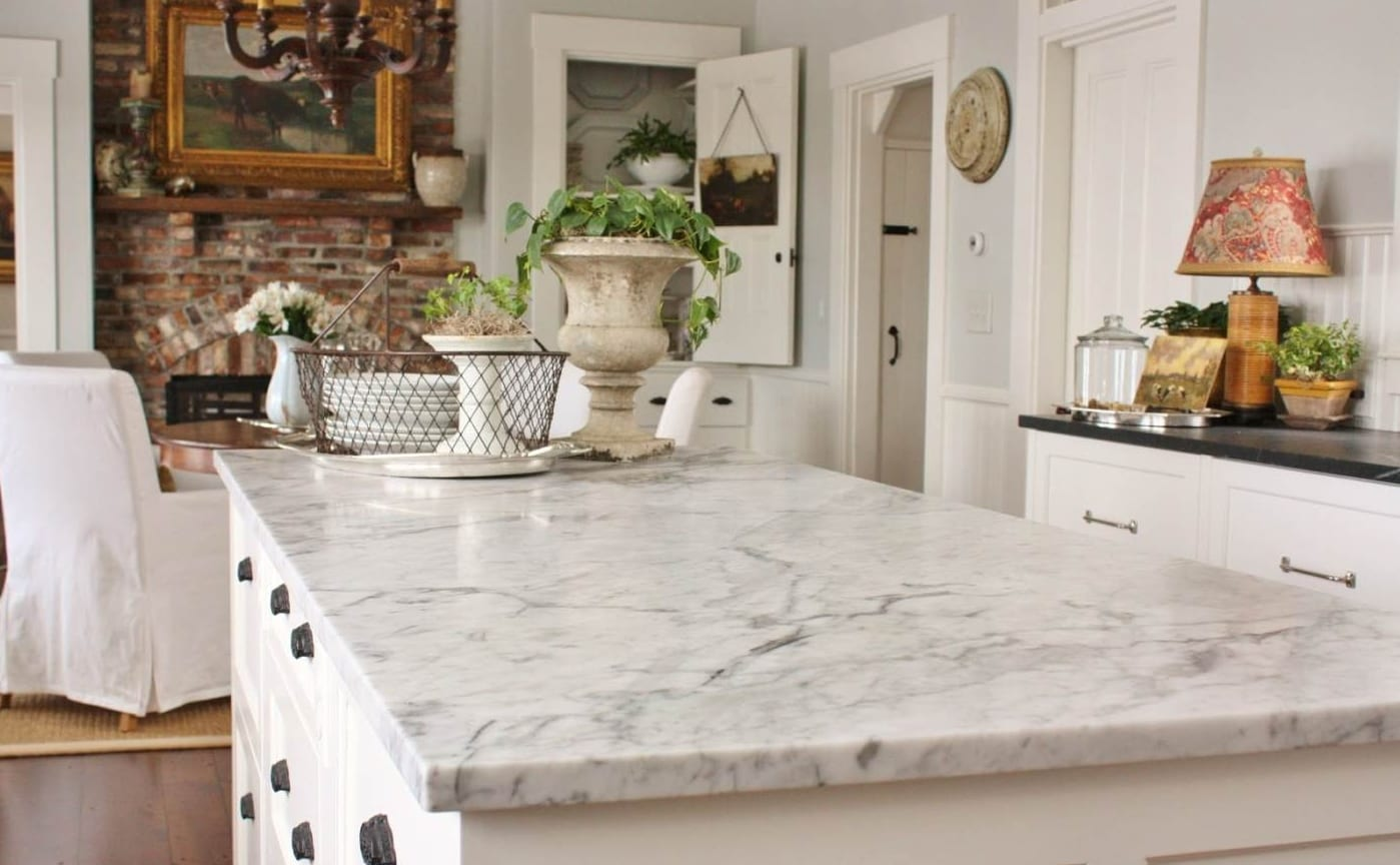Marble kitchen countertops pros and cons - Marble Marblefivestarstoneinc1