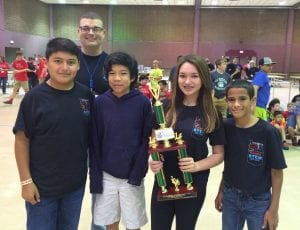 RARC Comp 2 MS 1st Place - Elm Grove Team 9