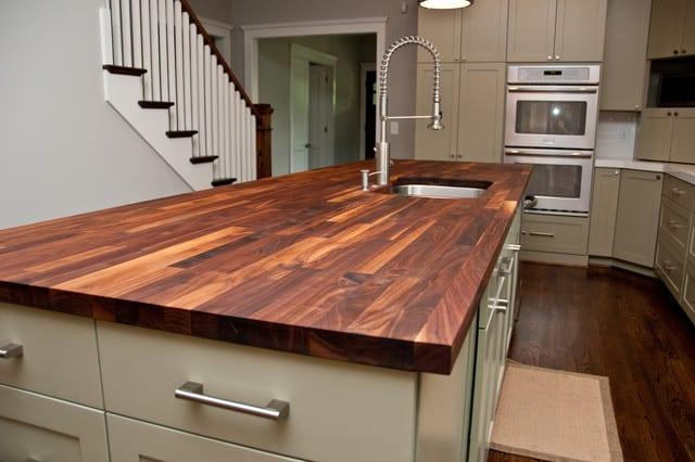 Superbe WOOD WOODbutcherblockcountertop Pros: Wood Countertops ...