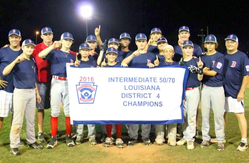 Courtesy of David Szwak The Bossier All-Stars have qualified for the Little League Baseball 50/70 Intermediate Southwestern Regional Tournament in Grand Junction, Colo.