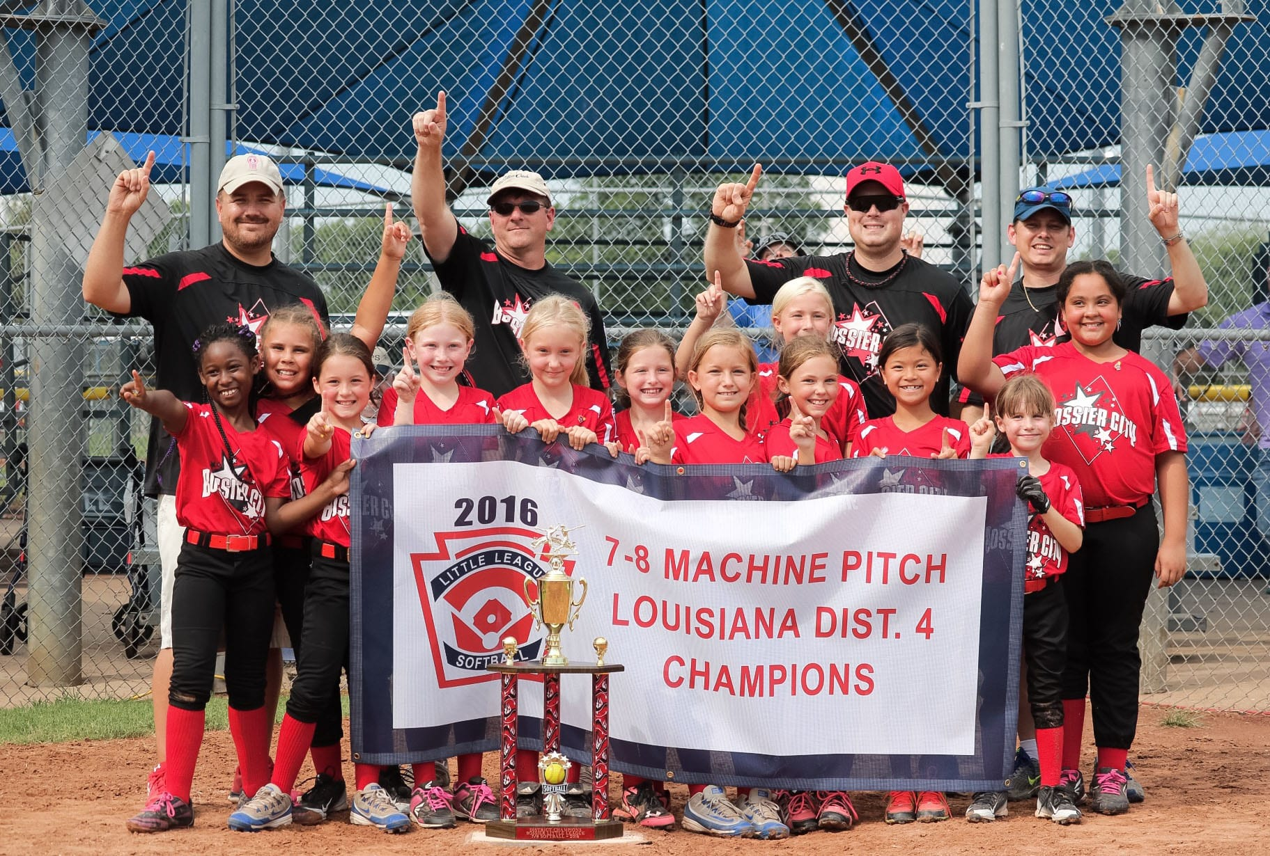 Courtesy Photo Little League Softball 7-8 Machine Pitch District 4 champions