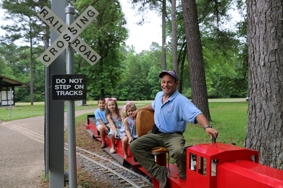 Today american rose center introduces train days in the The gardens of the american rose center