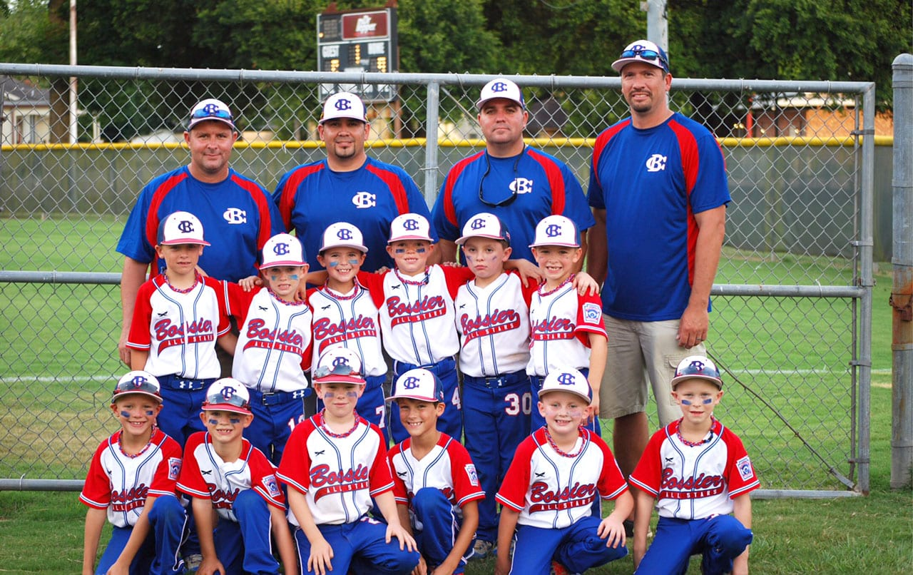 Courtesy Photo The Bossier All-Stars won the Little League 6/7 Machine Pitch District 4 and state championships.
