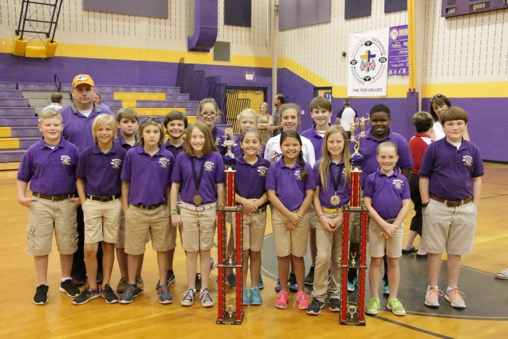 Benton Elementary 2016 Archery Team