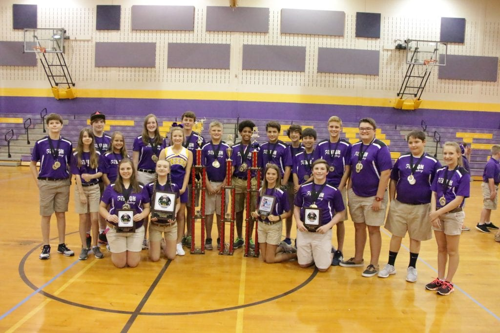 Benton Middle 2016 Archery Team