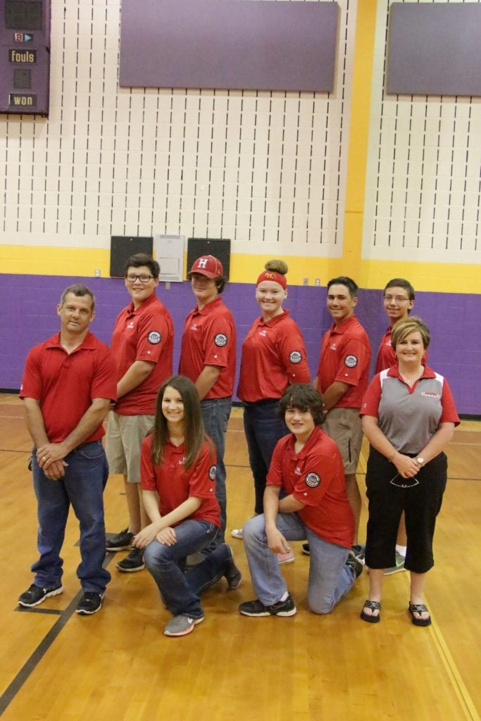 Haughton Middle  2016 Archery Team