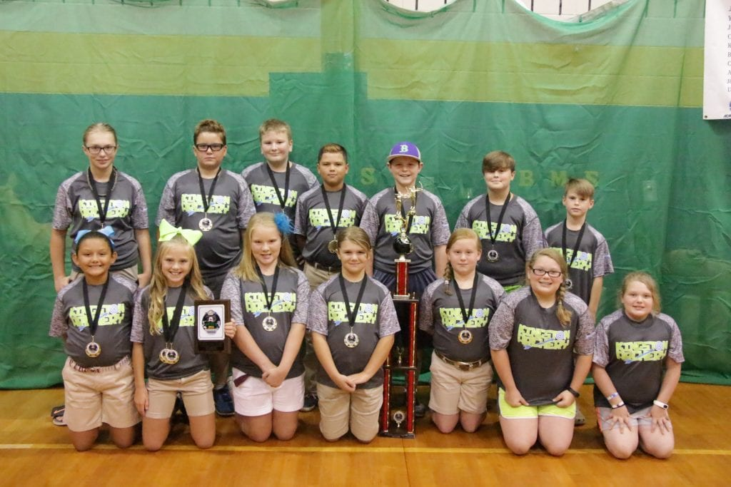 Kingston Elementary 2016 Archery Team