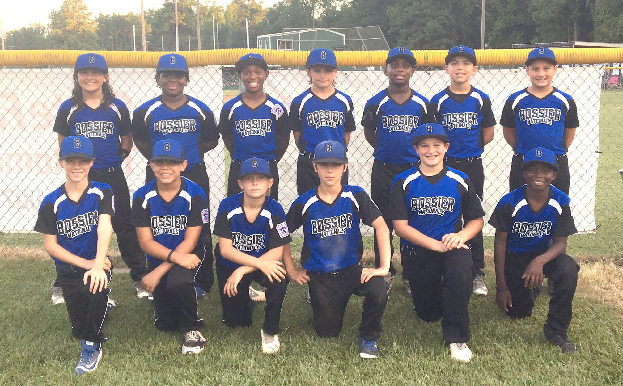 Courtesy Photo The Bossier All-Stars finished runner-up in the Little League 9/10 baseball state tournament in Blanchard.