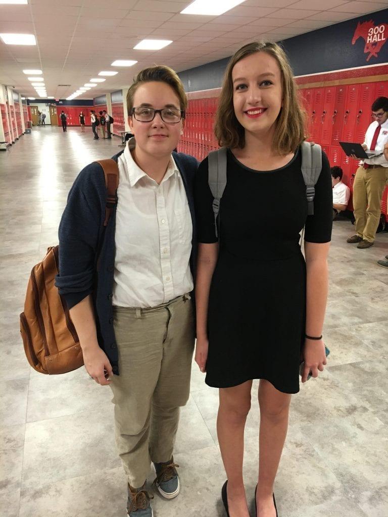 Courtesy Photo | Miranda Weathersby (L) and Amanda Watson (R)