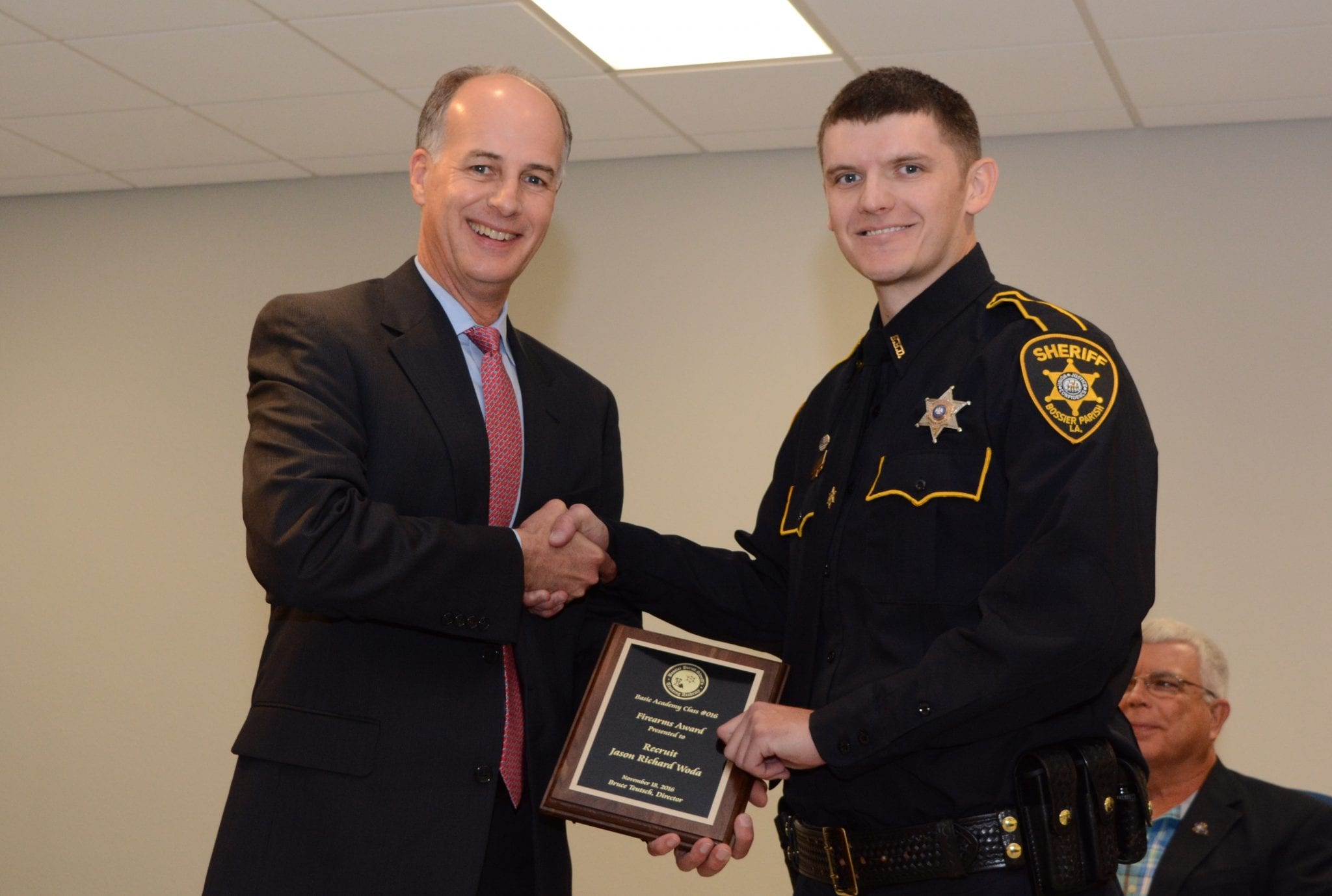 Bossier Parish Sheriffs Training Academy Graduates 22