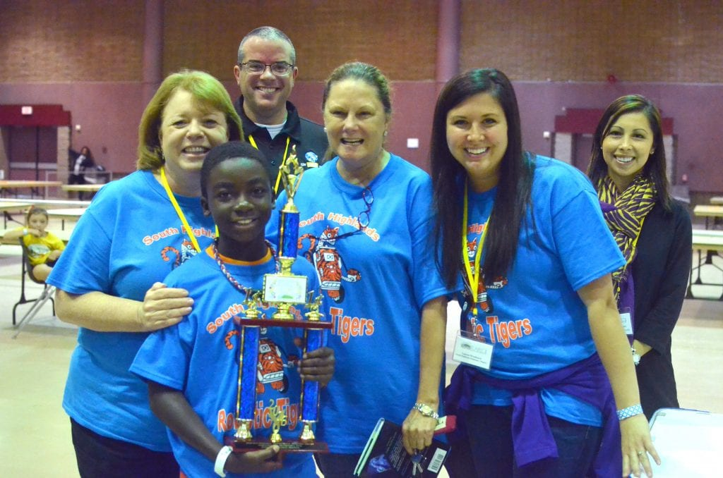 South Highlands team 2 took1st place in the elementary division.