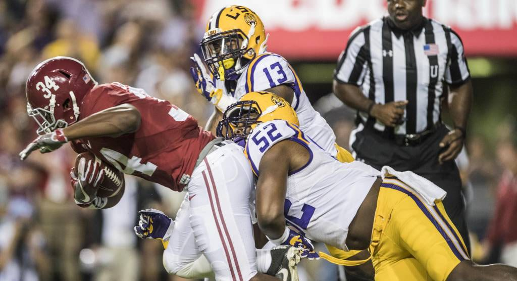No. 1 Alabama shuts out No. 13 LSU