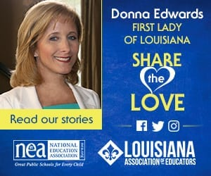Advertisement- LPA (Louisiana Association of Educators)