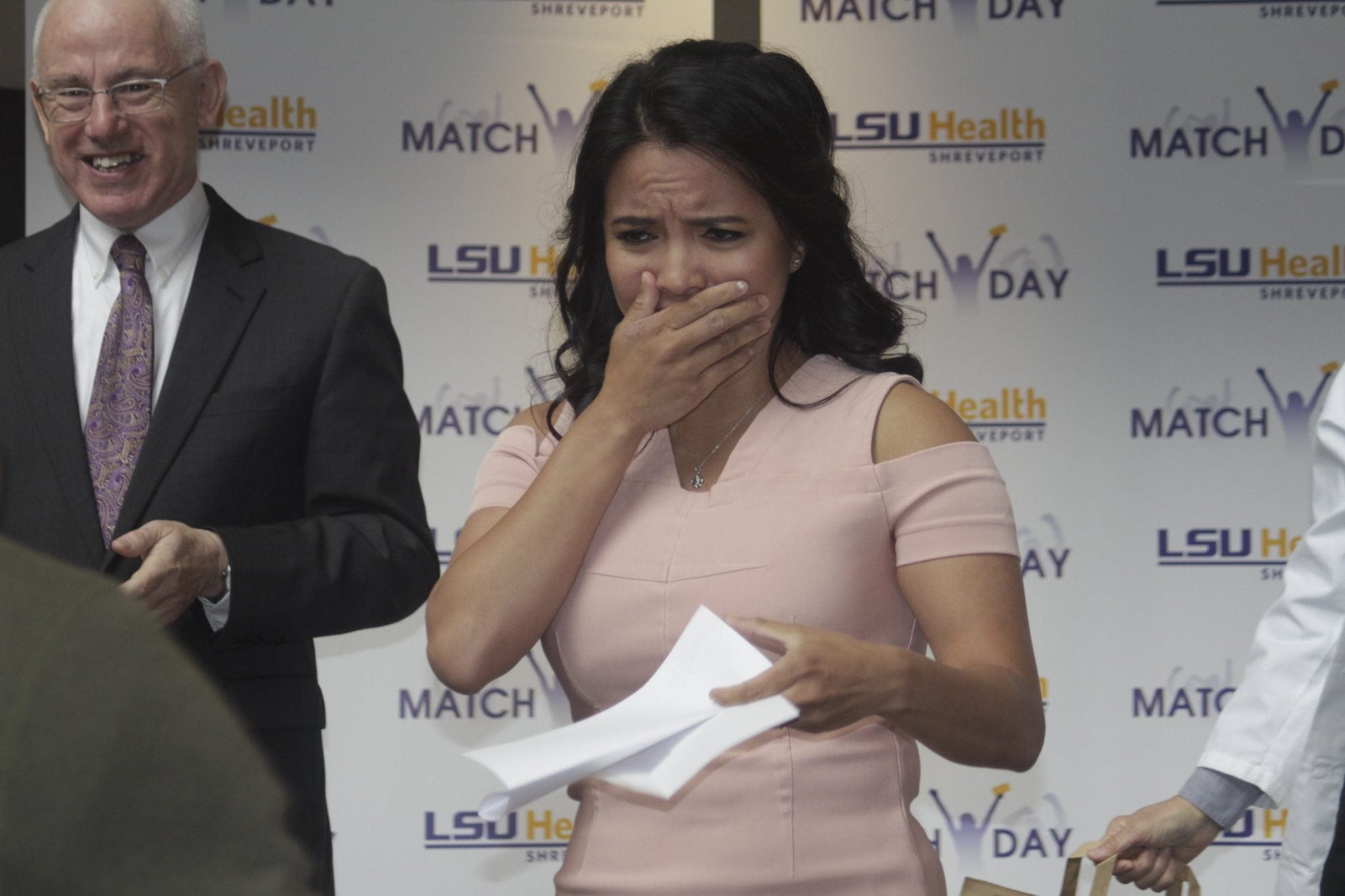 Med Students learn their fates on Match Day