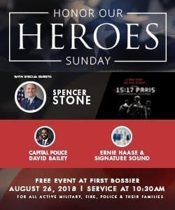 Advertisement – First Bossier (2018 Honor Our Heroes)