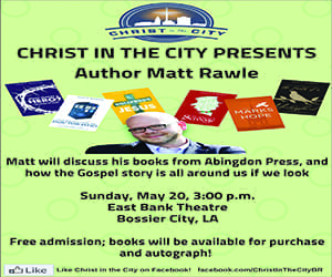 Advertisement: Christ In The City (Matt Rawle)