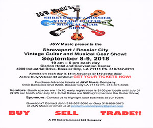 Advertisement – J&W Music Guitar Show